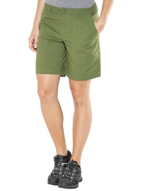 "Patagonia Stretch All-Wear 8"" Shorts Women Buffalo Green"